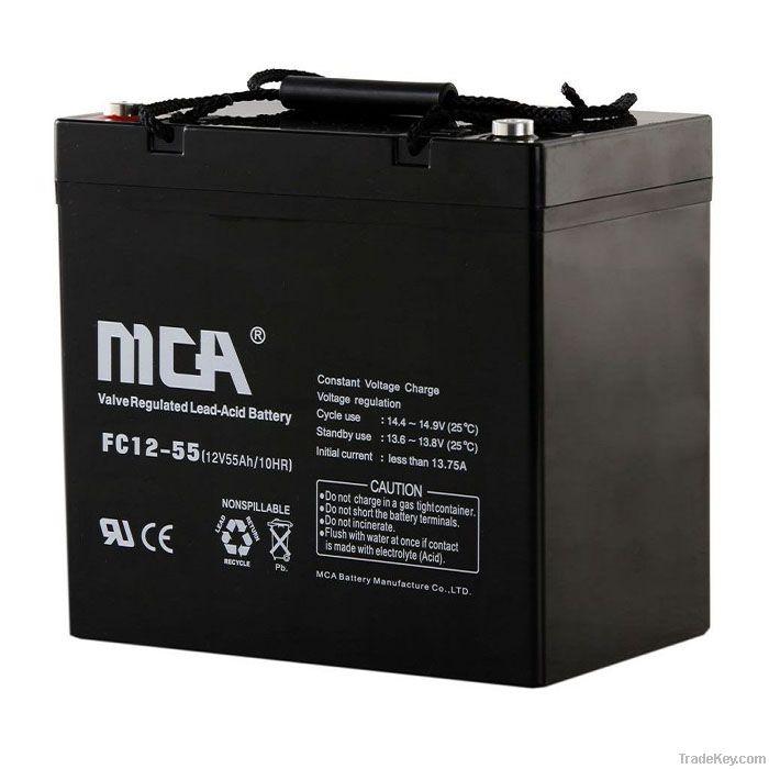 VRLA  battery 12V-50AH