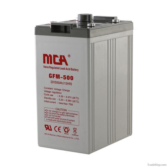 Sealed Lead Acid Battery 2V-500AH