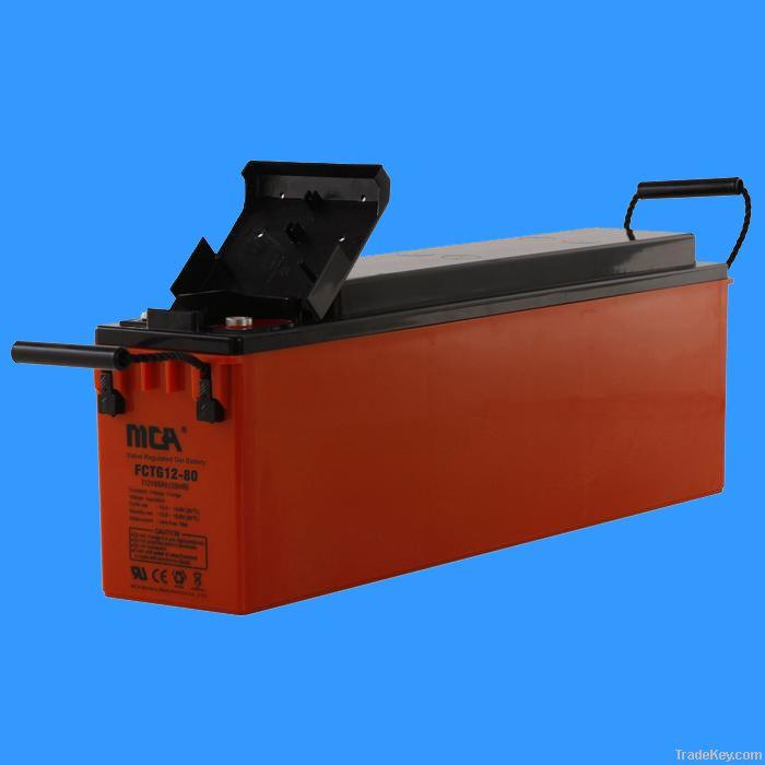 Sealed lead acid gel batteries 12V-80AH
