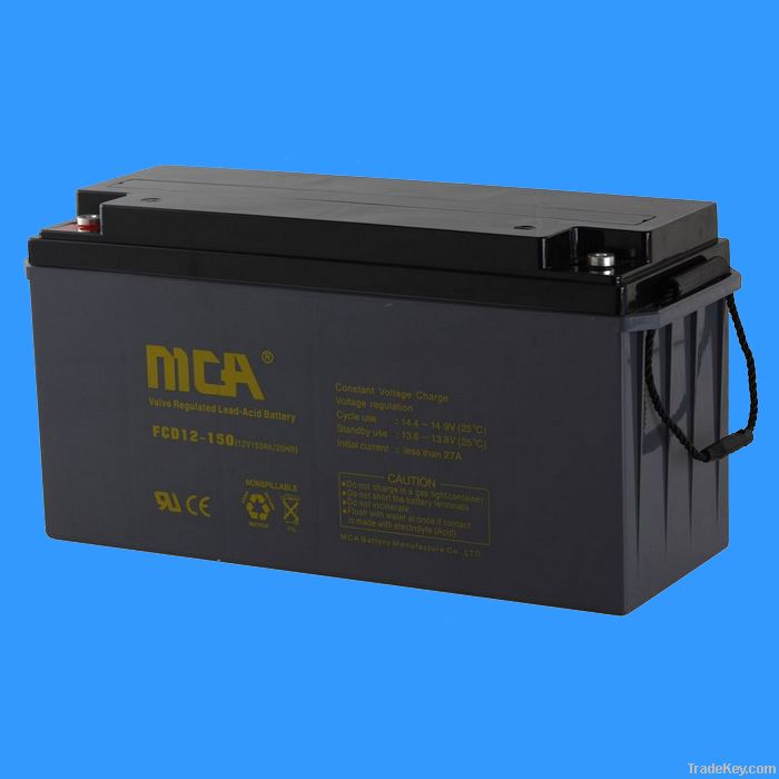 Deep Cycle Battery 12V-150AH