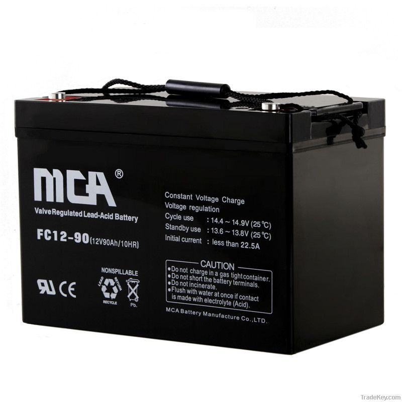 General AGM Batteries 12V-90AH