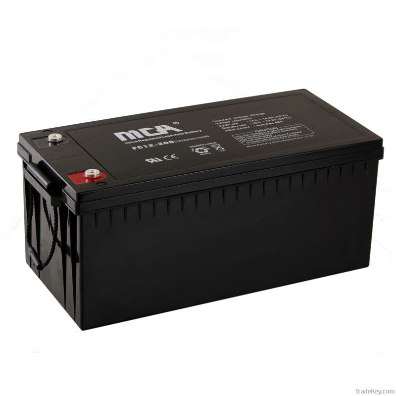 General AGM Batteries 12V-220AH