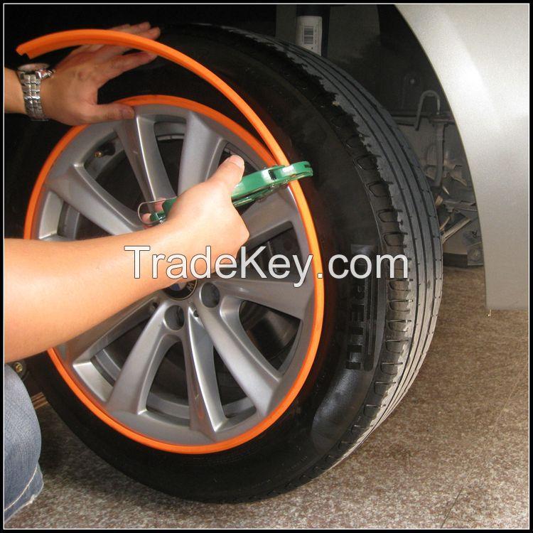 auto car wheel rim protector tire guard