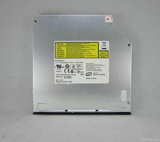 AD-7640A laptop internal IDE interface DVD RW burner