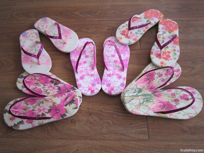 Printing flip flops