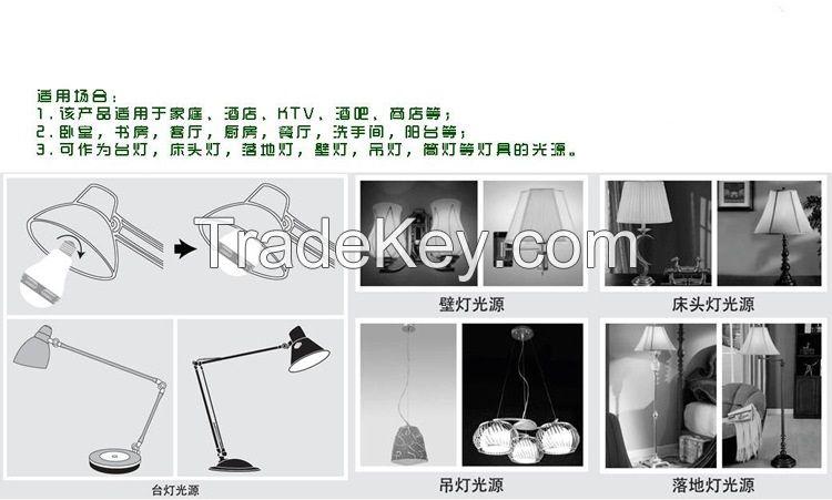 Bluetooth audio lamp  Bluetooth musiac light LED bluetooth stereo lamp with Remote Control e27 220V rgb led lights 5W