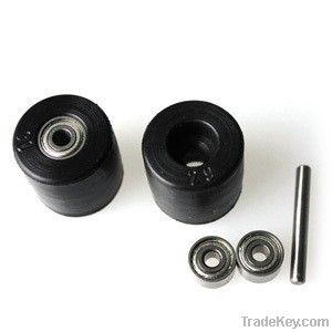 (8 inch) 203mm double aluminum omni wheel w/bearing rollers