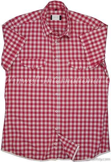 Mens Short Sleeves Casual Shirt
