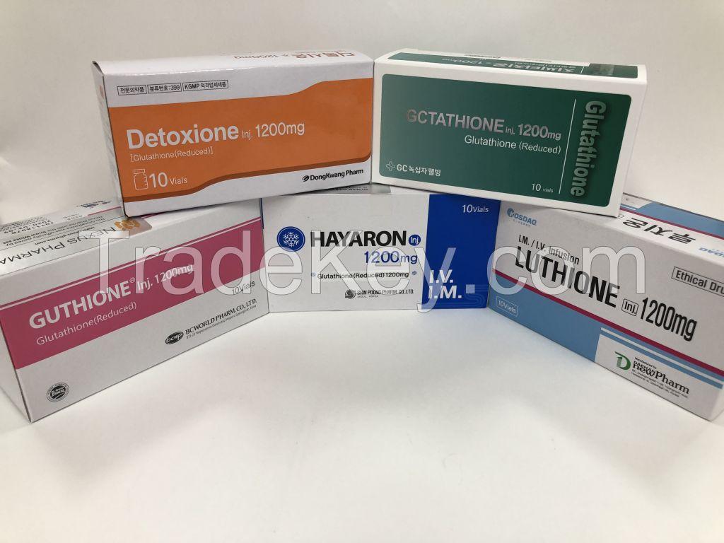 Gluta-1 Injection (Glutathione 600mg)