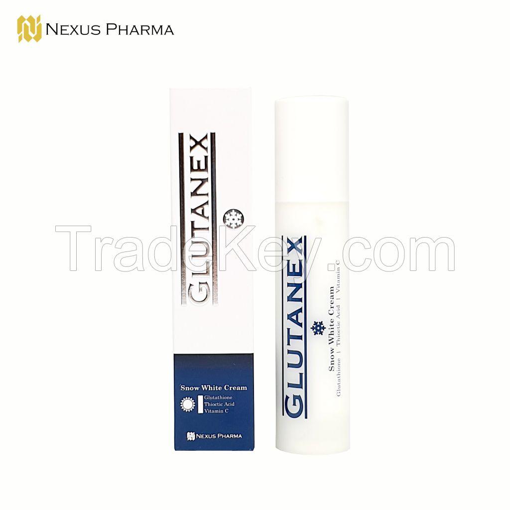 Glutanex Snow White Cream (Skin Whitening Cream, Anti-aging Cream)