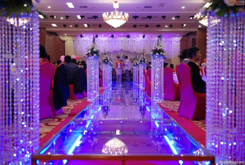 Mobile wedding stages, wedding stage equipment, all aluminum frame stage