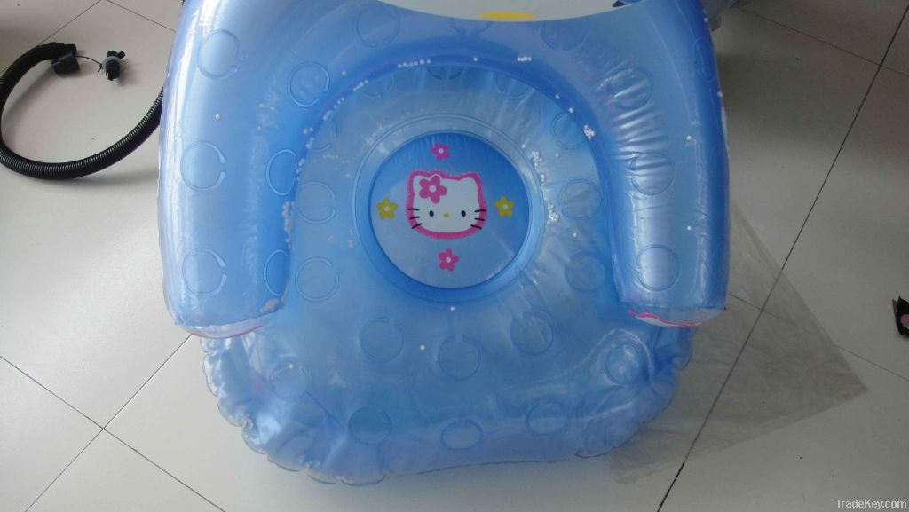 HELLO KITTY Inflatable Carton Sofa For Children
