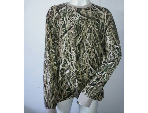 New design long sleeve camo t-shirt hunting