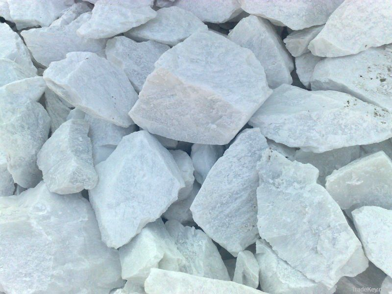 Talc powder and stones