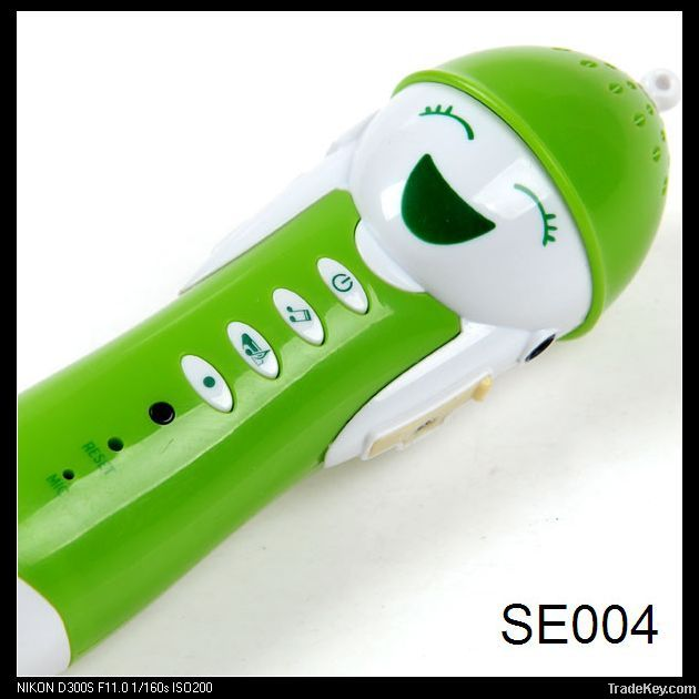 Electronic reading pen, an useful tool to learn language for kids