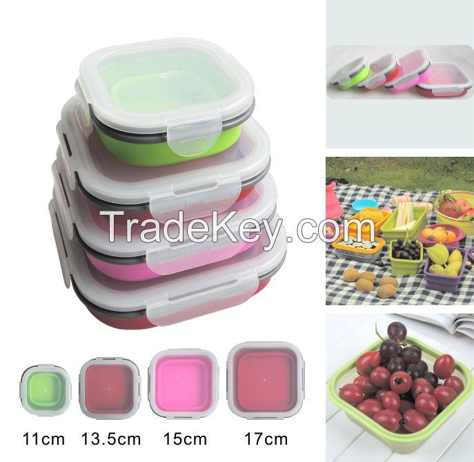 Folding Lunch Box