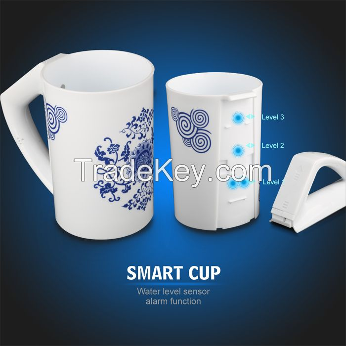 Newest wanscam ZN01 hot intellegent 500ml low consumption smart cup to the blind and the elders