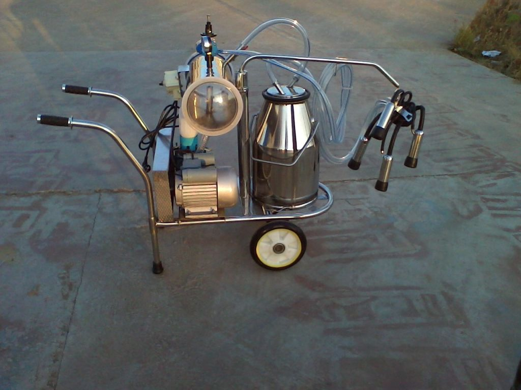 imported  vacuum pump milking machine