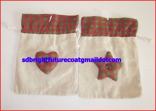 drawstring cotton bag in different color