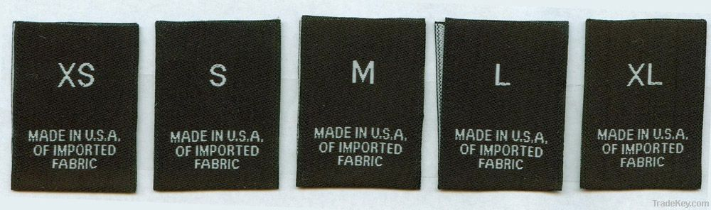 Weaving Clothing Label