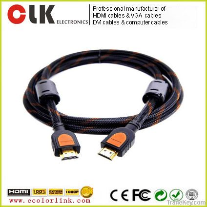 1.4v HDMI cable with mesh