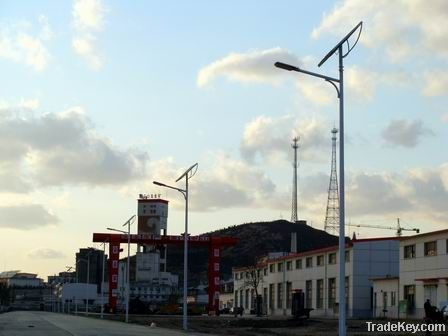 various solar LED street light system from china
