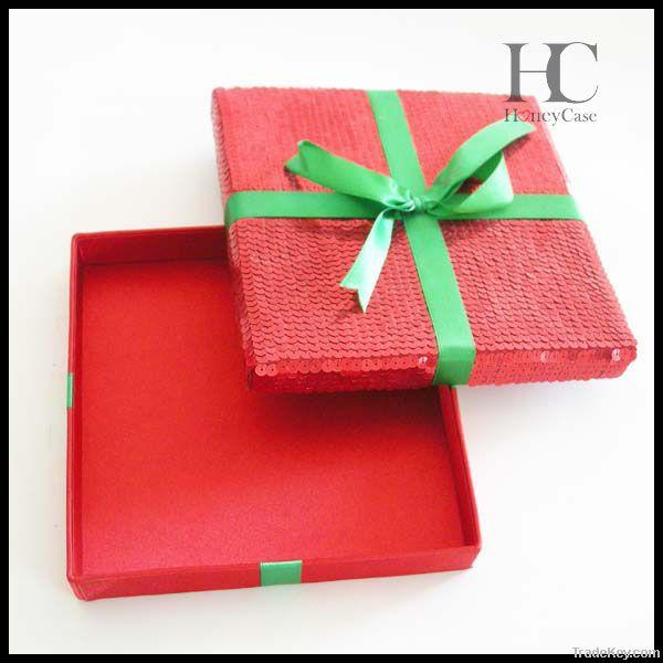 Sequined Seasonal/Festival  Gift Box/Case