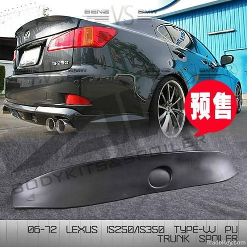 IS250 IS300 IS350 WALD paragraph PU Spoiler for Lexus
