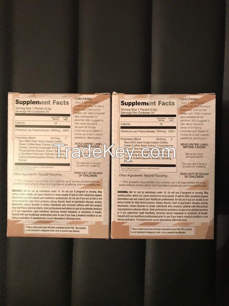 Valentus Slim Roast-Weight Loss Coffee-2Box 48 Packets 100%Natural