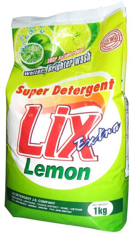 LIX EXTRA LEMON 1KG POWDER DETERGENT