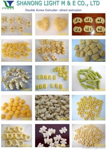 Core Filling and Inflating Snacks Food Processing Machinery