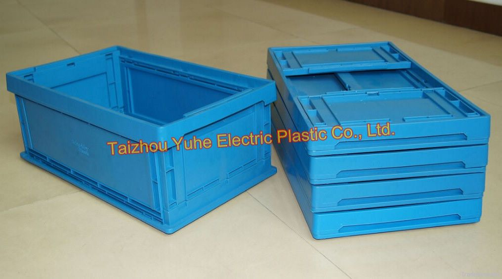 Plastic Collapsable Collapsible Foldable Crate/Box/Bin for Storage