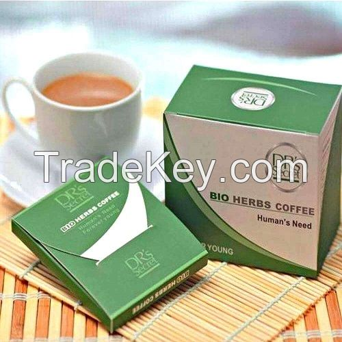 DRS SECRET Instant bio herbs coffee for men MALAYSIA