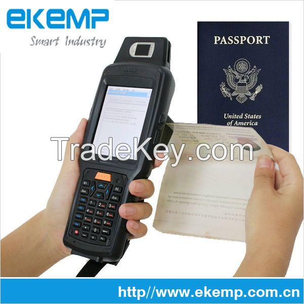 Win CE PDA MRZ OCR Reader Barcode Scanner Support ID Passport Reader