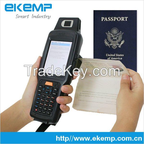 Handheld Hndustrial PDA Biometric Wireless Wifi Fingerprint Scanner