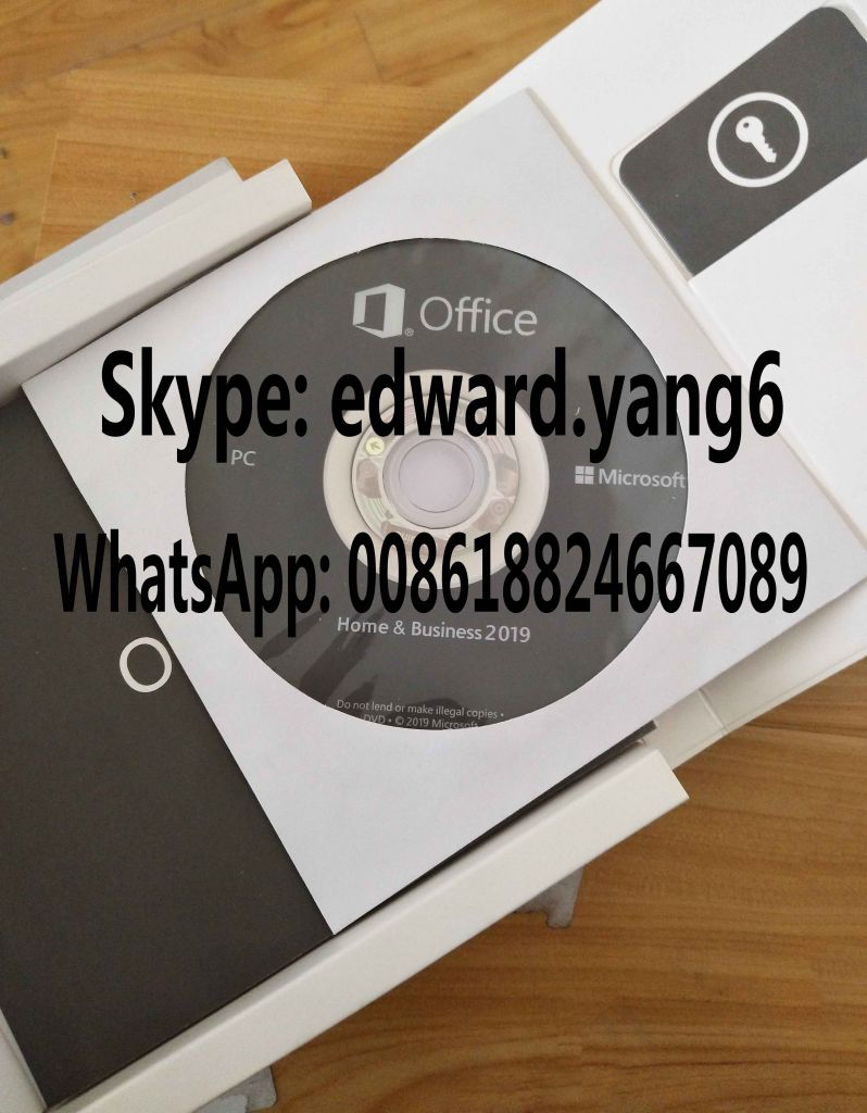Office 2019 Home and business Retail Sealed Packing Box office 2019 hb