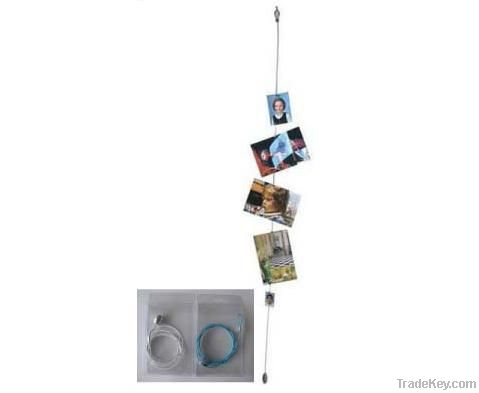cable magnetic photo holder, magnetic picture holder/frame