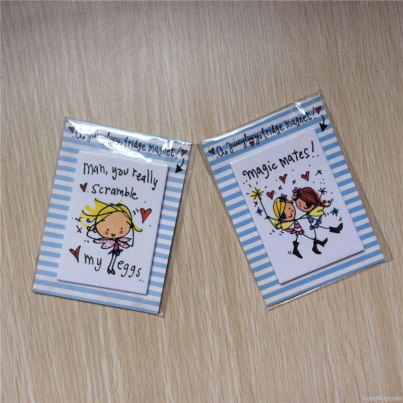 Decoration tin magnet, tinplate fridge magnets