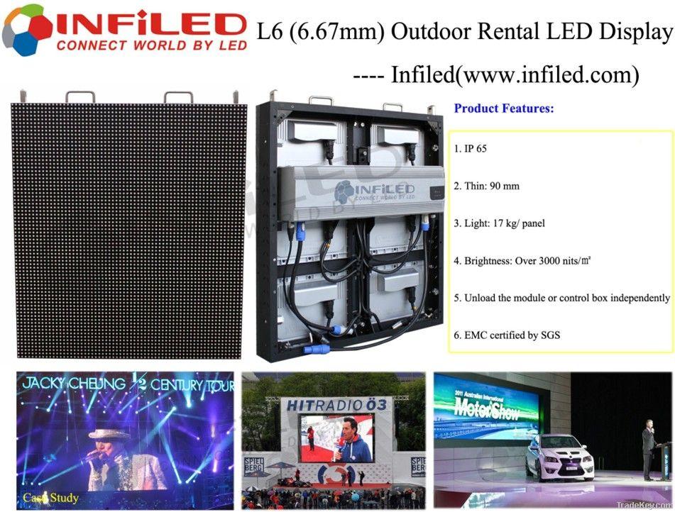 L6 Outdoor LED Rental Display