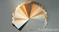 MDF or particle board folding drawer