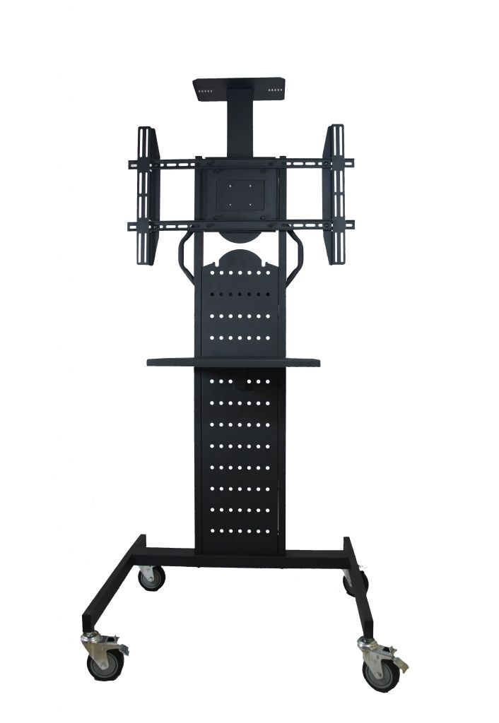 Load for 62 inch , capacity 75KG, Height adjustable Floor  LCD PLASMA TV STAND