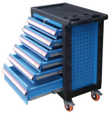 Premium Series 30 Inch 6 Drawer Rolling Cabinet Tool Trolley
