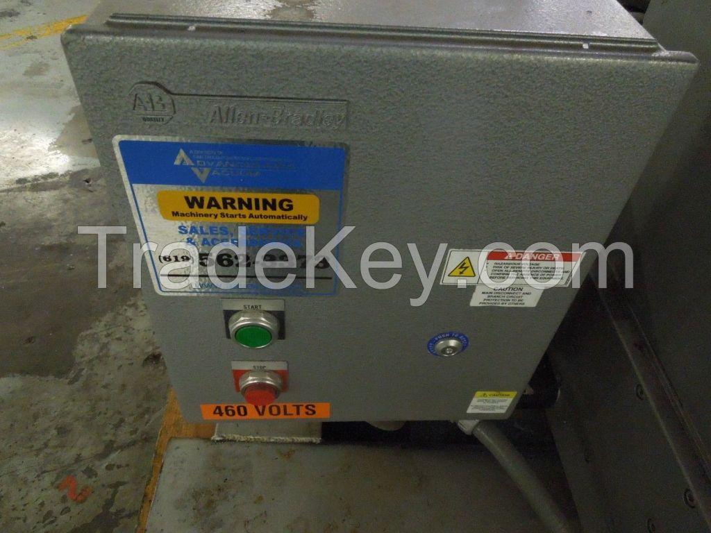Busch R5 20 HP rotary vane vacuum pump