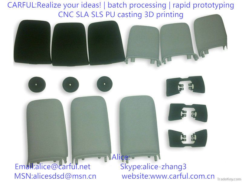 rapid prototyping, small batch processing, industrial design, custom led