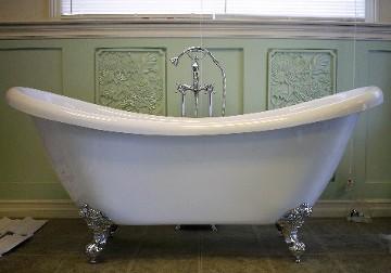 Genial Victoria Double Slipper Claw Foot Bath Tub