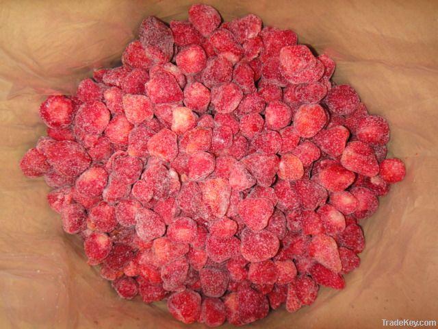 IQF Strawberry, Frozen Strawberry, Frozen Berries, Frozen Fruits, New Crop Frozen Strawberry