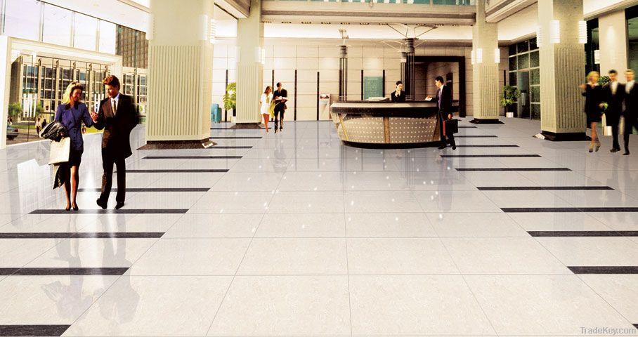 Polished Porcelain Tile Rectified Nano Double Loaded Floor Flooring