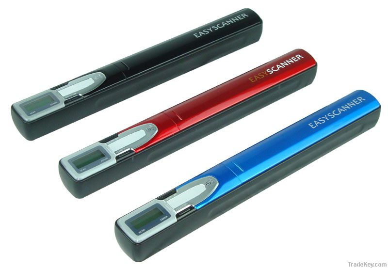 A4 portable handheld document scanner