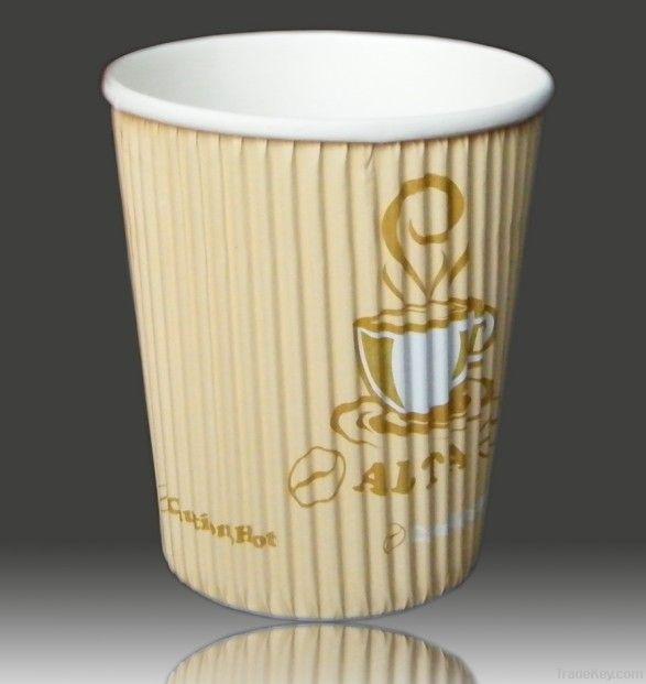 corrugated cups
