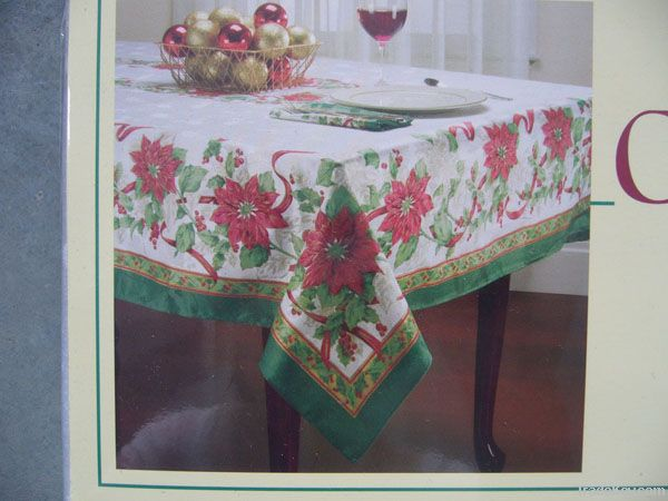 polyster jacquard table cloth, table cover, table runner